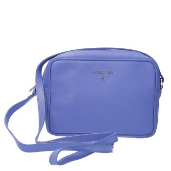 Borsa Donna a Tracolla PATRIZIA PEPE in Pelle colore Blue Sea 2V8985