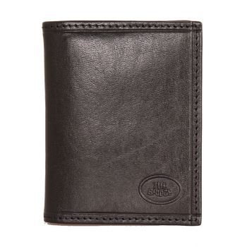 THE BRIDGE Story Line – Black Leather Credit Card Wallet