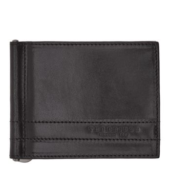 THE BRIDGE Soderini Line – Black Leather Wallet