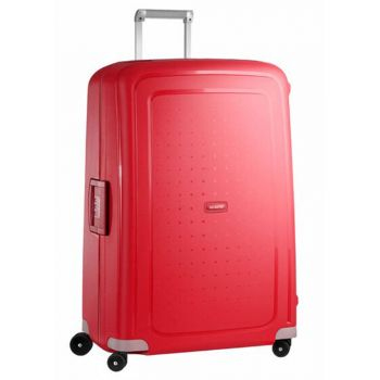 Trolley XL 81 cm 4 Ruote Leggero 5 kg  - Samsonite S'Cure Crimson Red