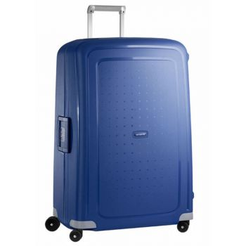 Trolley XL 81 cm 4 Ruote Leggero 5 kg  - Samsonite S'Cure Dark Blue