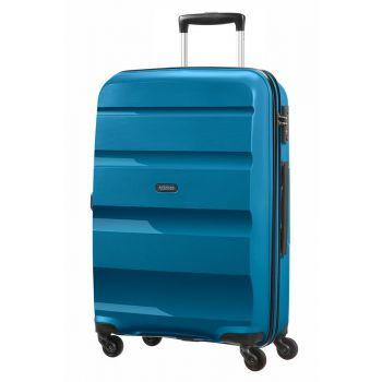 Trolley Medio Rigido 4 Ruote 66cm 3,4kg - American Tourister Bon Air Seaport Blue