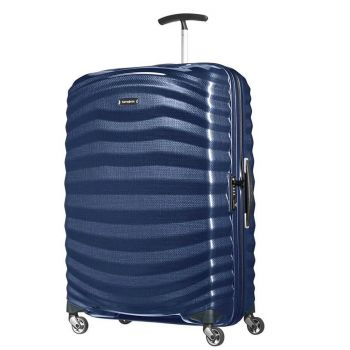 Trolley Grande 75cm 4 Ruote Rigido Leggero 2,5kg Samsonite Lite-Shock Midnight Blue