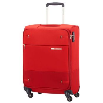 Trolley Cabina Semirigido 4 Ruote 55cm 2kg Samsonite Base Boost Red