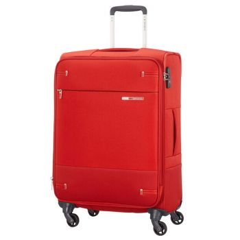 Trolley Medio Semirigido Espandibile 4 Ruote 66cm 2.7kg Samsonite Base Boost Red