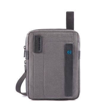PIQUADRO Pulse 16 Line – Classy Fabric Crossbody Bag with iPad Compartment CA3228P16