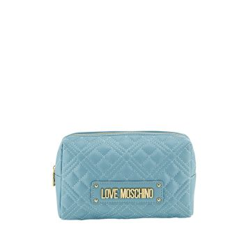 Beauty LOVE MOSCHINO linea New Shiny Quilted colore Azzurro