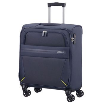 Trolley Cabina Semirigido 55cm 4 Ruote 2,6kg - American Tourister Summer Voyager Midnight Blue