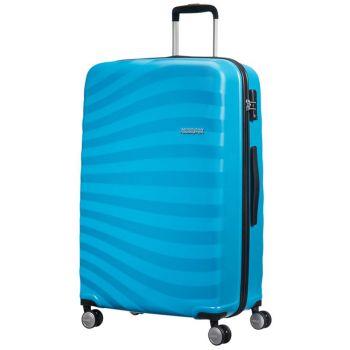 Trolley Grande Rigido 4 Ruote 78cm - Samsonite American Tourister Oceanfront Spring Blue