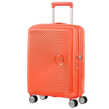 Trolley Cabina 55cm 4 Ruote Leggero 2,6kg Espandibile - American Tourister Soundbox Spicy Peach