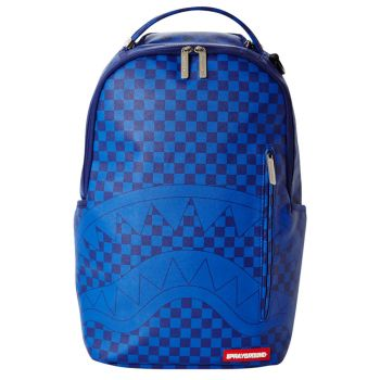 Zaino Uomo SPRAYGROUND stampa Blue Checkered Shark