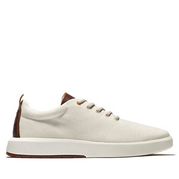 Scarpe Uomo TIMBERLAND Sneakers linea Truecloud in Canvas colore Bianco