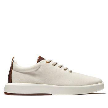 Scarpe Uomo TIMBERLAND Sneakers linea Truecloud in Canvas colore Bianco