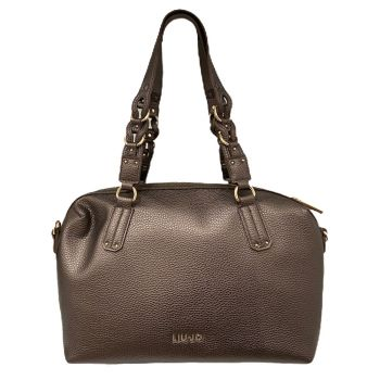 Borsa Donna Bauletto a Spalla LIU JO colore Moro Light Metal