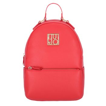 Zaino Donna con Logo LIU JO colore True Red