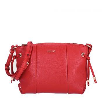 Borsa Donna a Tracolla LIU JO Colore Rosso con Stringhe Laterali