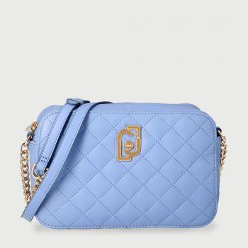 Borsa Donna a Tracolla LIU JO Effetto Matelassè colore Bright Blue