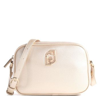 Borsa a Tracolla LIU JO con Logo colore Light Gold