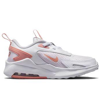 Scarpe Bambina NIKE Sneakers linea Air Max Bolt colore Bianco - Rosa