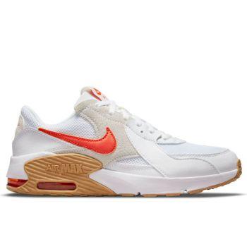 Scarpe NIKE Sneakers linea Air Max Excee colore Bianco - Arancione