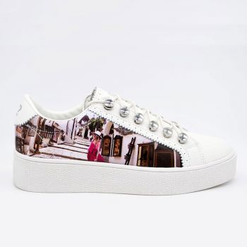 Scarpe Donna Y Not Sneakers Stampa Alberobello