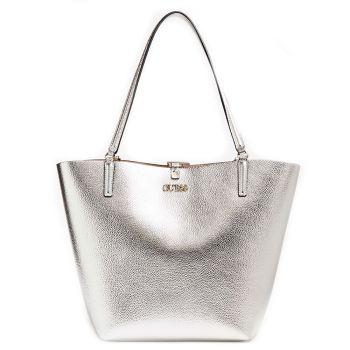 Borsa Donna a Spalla GUESS Linea Alby colore Silver Blush