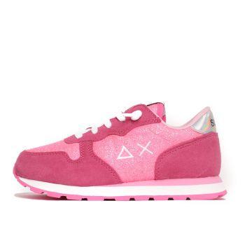 Scarpe Bambina SUN 68 Sneakers Girl's Ally Glitter Fuxia