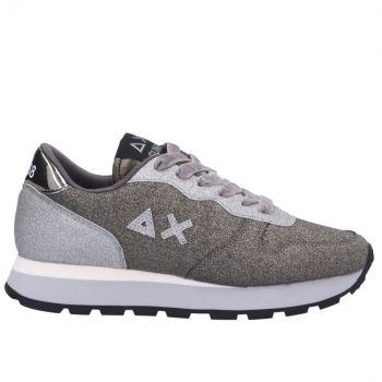 Scarpe Donna Sun68 Sneakers Ally Glitter Colore Argento