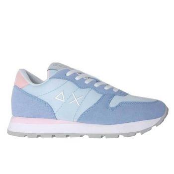 Scarpe Donna Sun68 Sneakers Ally Solid Nylon Colore Azzurro