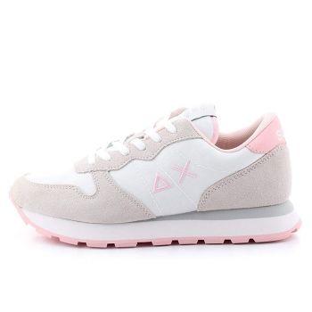 Scarpe Donna Sun68 Sneakers Ally Solid Nylon Colore Bianco