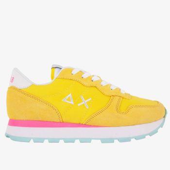 Scarpe Donna Sun68 Sneakers Ally Solid Nylon Gialle