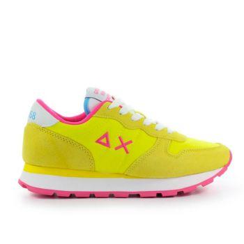 Scarpe Donna Sun68 Sneakers Ally Solid Nylon Giallo - Z31201