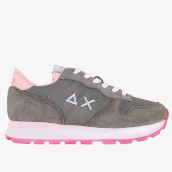 Scarpe Donna Sun68 Sneakers Ally Solid Nylon Grigio Medio