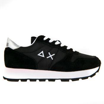 Scarpe Donna Sun68 Sneakers Ally Solid Nylon Colore Nero