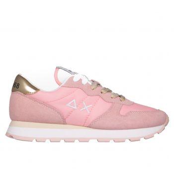 Scarpe Donna Sun68 Sneakers Ally Solid Nylon Rosa