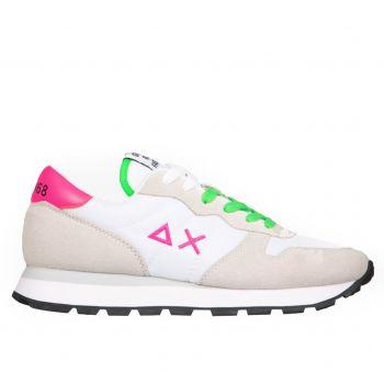 Scarpe Donna Sun68 Sneakers Ally Solid Nylon Bianco
