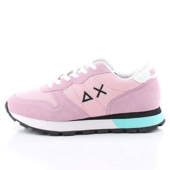 Scarpe Donna Sun68 Sneakers Ally Sporty Mesh Rosa