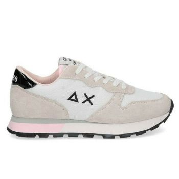 Scarpe Donna Sun68 Sneakers Ally Sporty Mesh Bianco