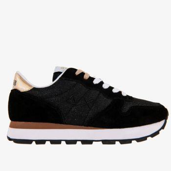 Scarpe Donna Sun68 Sneakers Ally Thin Glitter Nero
