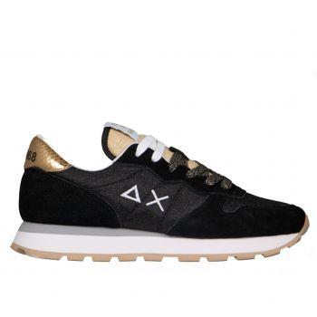 Scarpe Donna Sun68 Sneakers Ally Thin Glitter Nero Z31204