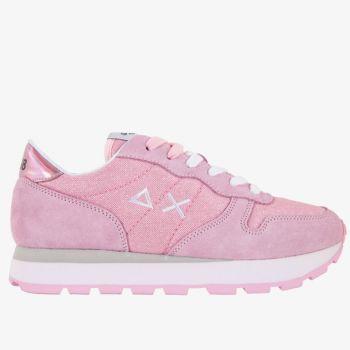 Scarpe Donna Sun68 Sneakers Ally Thin Glitter Rosa