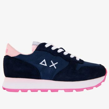 Scarpe Donna Sun68 Sneakers Ally Solid Nylon Navy Blue