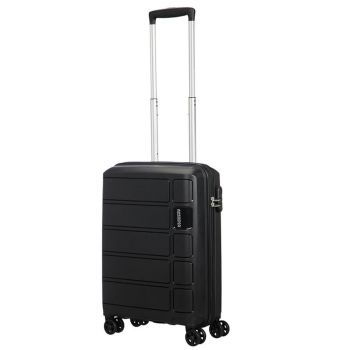 Trolley Cabina 55cm 4 Ruote 2,5kg - American Tourister Summer Splash Nero