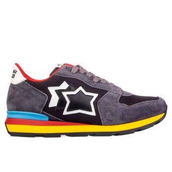 Scarpe Uomo ATLANTIC STARS Sneakers Linea Antares Colore Antracite Black
