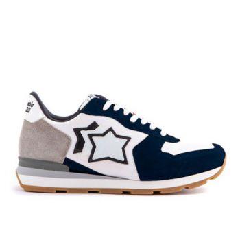 Scarpe Uomo ATLANTIC STARS Sneakers Linea Antares Colore Deep Cobalt