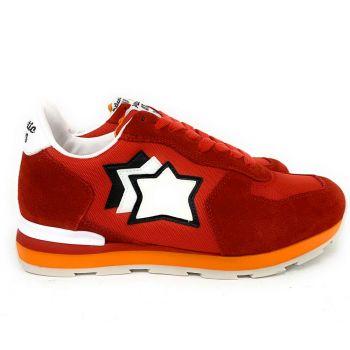 Scarpe Uomo ATLANTIC STARS Sneakers Linea Antares Colore Fuoco