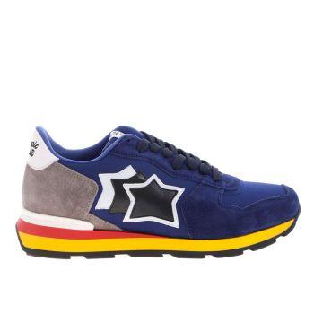 Scarpe Uomo ATLANTIC STARS Sneakers Linea Antares Colore Blu Scuro