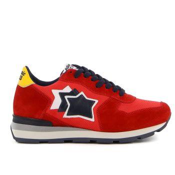 Scarpe Uomo ATLANTIC STARS Sneakers Linea Antares Colore Ketchup and Maio
