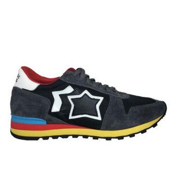 Scarpe Uomo ATLANTIC STARS Sneakers Linea Argo Colore Antracite Black