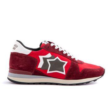 Scarpe Uomo ATLANTIC STARS Sneakers Linea Argo Colore Red Merlot